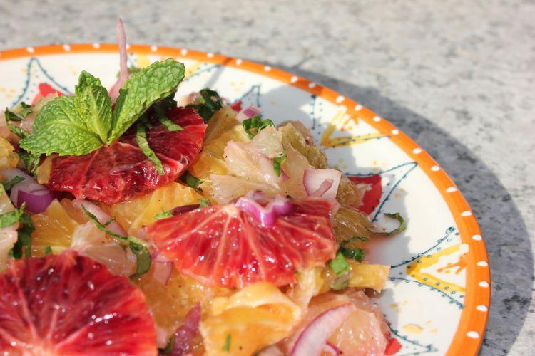 Orange Salad pic 1